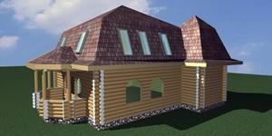 Архітектурні проекти та будівництво дерев'яних будинків.
