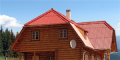 Карпатські дерев'яні будинки